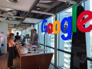 Binnenkijken bij Google Nederland. Foto: Sander Lindenburg