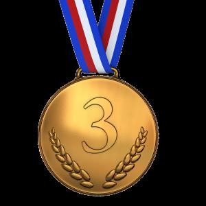 Medaille, niet gewonnen